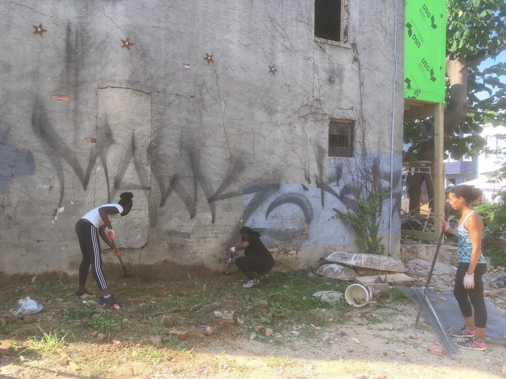 Etting Street Project clean-up BWBB