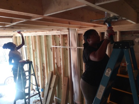 Chanelle and Bryanna insert recessed lighting