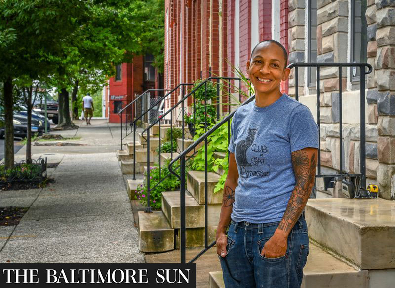 Shelley Halstead, ED and Founder of Black Women Build - Baltimore
